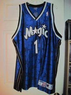 Champion Orlando Magic Authentic Tracy McGrady Basketball Game Jersey