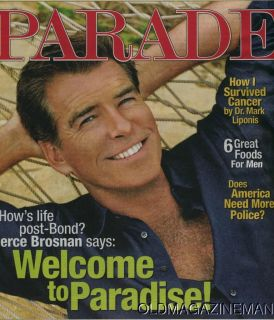 Pierce Brosnan Parade Magazine June 2008 Leona Lewis