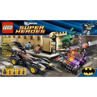 Lego 6864 Batman Batmobile and The Two Face Chase Lego Super Heroes