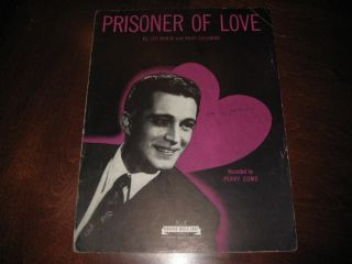 Prisoner of Love 1931 Perry Como Leo Robin Russ Columbo 4149