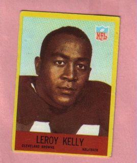 1967 Philadelphia HOF Rookie 43 Leroy Kelly Browns