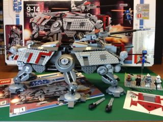 Lego Star Wars The Clone Wars at TE Walker 7675
