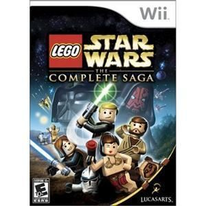 LEGO STAR WARS THE COMPLETE SAGA KIDS VIDEO GAMES SOLVES PUZZLE FOR
