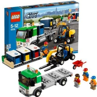 New 2012 Lego City 4206 Recycling Truck New SEALED on Hand Great Gift