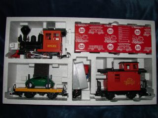 Lehmann LGB G scale New Toy Train Series Auto Transport Set Beetle