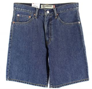 Levis 550 Relaxed Fit Mens Denim Jeans Shorts