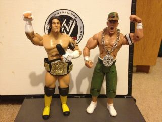 WWE cm Punk John Cena Action Figures Elite Belt Wrestlemania 28 Lot