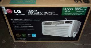 LG Electronics 12 000 BTU Window Air Conditioner