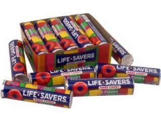40 XXL Rolls Five Flavors Lifesavers Life Savers Candy