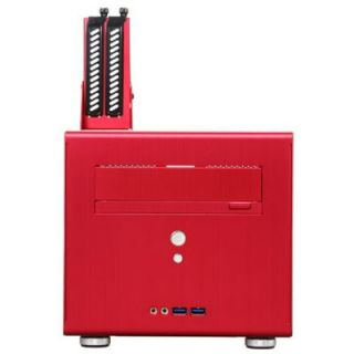 Lian Li Red Aluminum Mini ITX Computer Case New PC Q06R