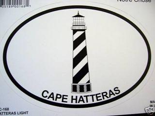 Decal Sticker Cape Hatteras Lighthouse Car Window