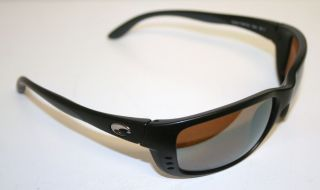 Del Mar Zane Black 580 Gray Glass ZN 11 Lightwave Sunglasses