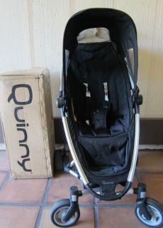 Quinny Zapp Lightweight Campact Folding Black Baby Stroller
