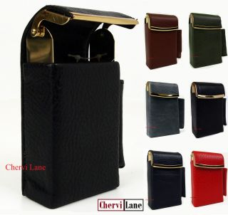 Tobacco Cigarette Cigar Lighter Holder Case Purse Wallet