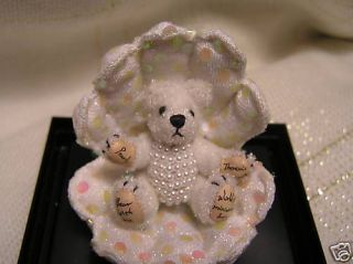 World of Miniature Bears Pearly Clam Shell Pearls
