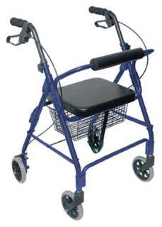 Brand New Rollator Walker Lightweight Aluminum