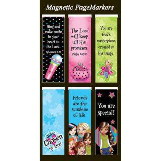 Set of 6 Little Miss Grace Bookmarks SM Magnetic Bookmark