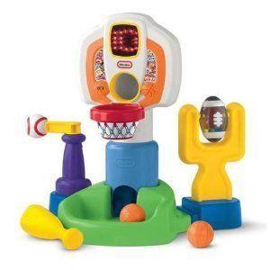 Little Tikes Baby Sports Activity Baby Playset   Basketball Baseball