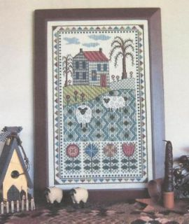 Willow Hill Farm Counted Cross Stitch Pattern Linda Myers Designs