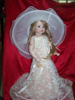 The Doll Maker Linda Rick 24inch Full Body Porcelain Doll Enchanted