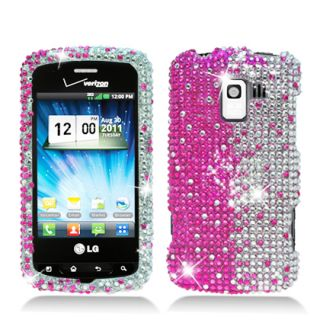 Bling Bling Cover for  Net10 StraightTalk LG Optimus Q