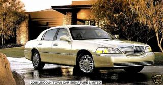 2006 Lincoln Town Car Signature Limited Magnet