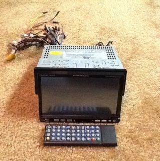 Power Acoustik Ptid 7001NT Single DIN 7 Car AV TV Radio