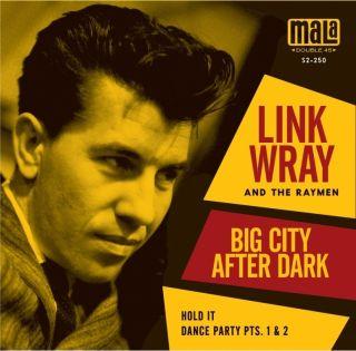 Link Wray His Raymen Big City After Dark 7 Vinyl Record RSD Black