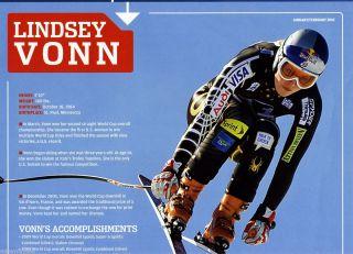 Sports Illustrated Kids SI SIFK Poster Lindsey Vonn Shaun White