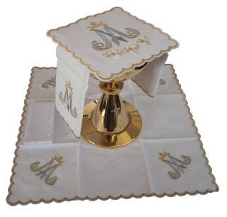 Embroidered Altar Linens Al Set 6 US