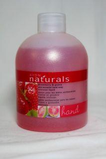 Avon Naturals Anti Bacterial Liquid Hand Soap 8 4 FL oz Select Your