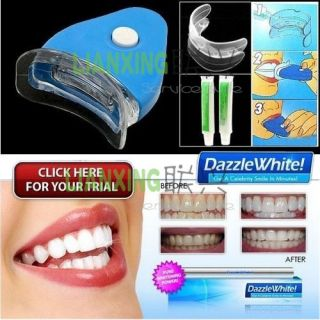 White Light Home Teeth Whitening System Kit Dental Treatment Tooth