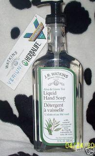 Watkins Aloe Green Tea Liquid Hand Soap