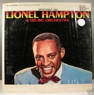 Lionel Hampton His Big Orchestra DLP 157 Jazz Vinyl