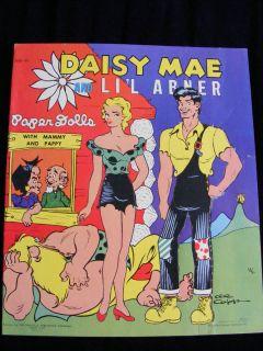 1951 DAISY MAE & Lil Abner Paper Cut out Dolls RARE Uncut ORIGINAL