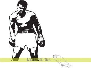 Muhammad Ali vs Sonny Liston Sporting Moment Boxing Wall Art Tattoo