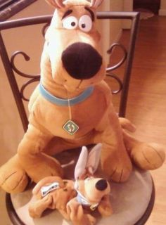Scooby Doo Plush Doll Toy Easter Bunny Ears Large Huge Jumbo Warner