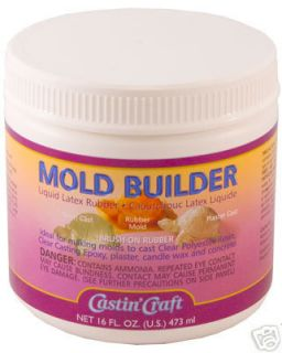 Mold Builder Castin Craft Liquid Rubber Latex 16 Oz