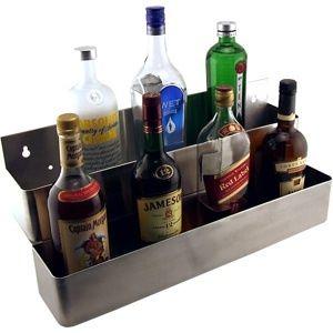 Double Bar Speed Rail Liquor Bottle Holder s S