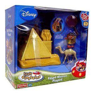 Little Einsteins Einstein Pyramid Egypt Mission Playset