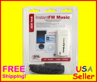 Tech USB 2 0 Instant FM Radio Music Listen Recorder Device New