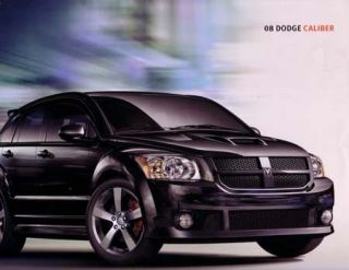 2008 Dodge Caliber Sales Brochure Literature Book
