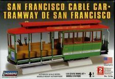 Lindberg San Francisco Cable Car Model Kit 1 25 New SEALED