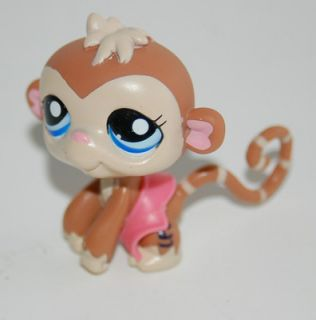 Littlest Pet Shop LPS Brown Monkey
