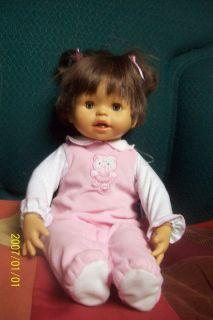 Fisher Price Little Mommy Real Loving Doll Hispanic Spanish Speaking