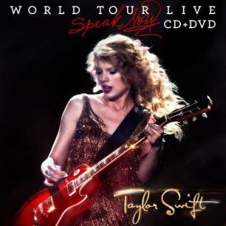 Taylor Swift World Tour Live Speak Now 2011 CD DVD