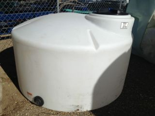 550 Gallon Poly Water Storage Tank Tanks Container