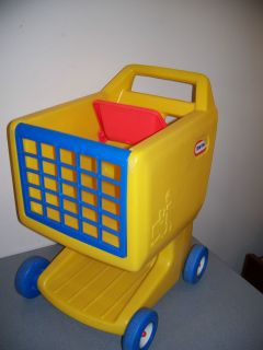 LITTLE TIKES TYKES SHOPPING CART CHILD TODDLER PUSH TOY PRETEND