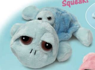 Lil Peepers Splish Baby Blue Turtle Soft Plush Toy MD
