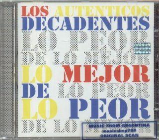 LOS AUTENTICOS DECADENTES, LO MEJOR DE LO PEOR + 7 BONUS TRACKS
